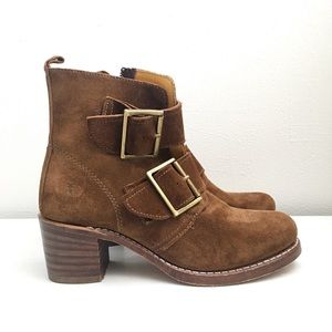 Frye | 'Sabrina' Double Buckle Boots